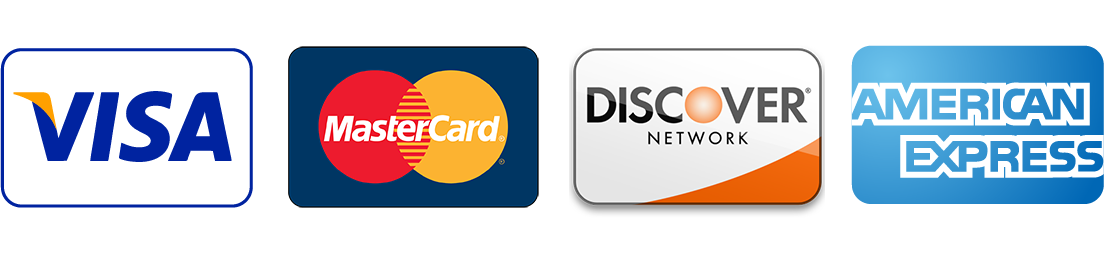 accepted credit card payment options