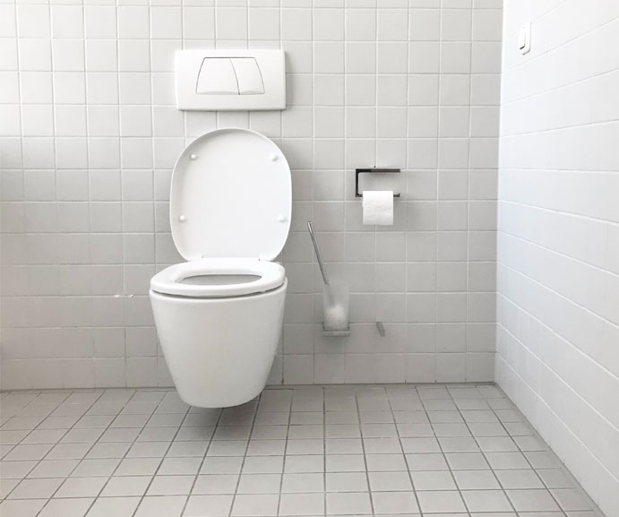 Patients with MS find themselves making constant trips to the washroom because of bladder dysfunction